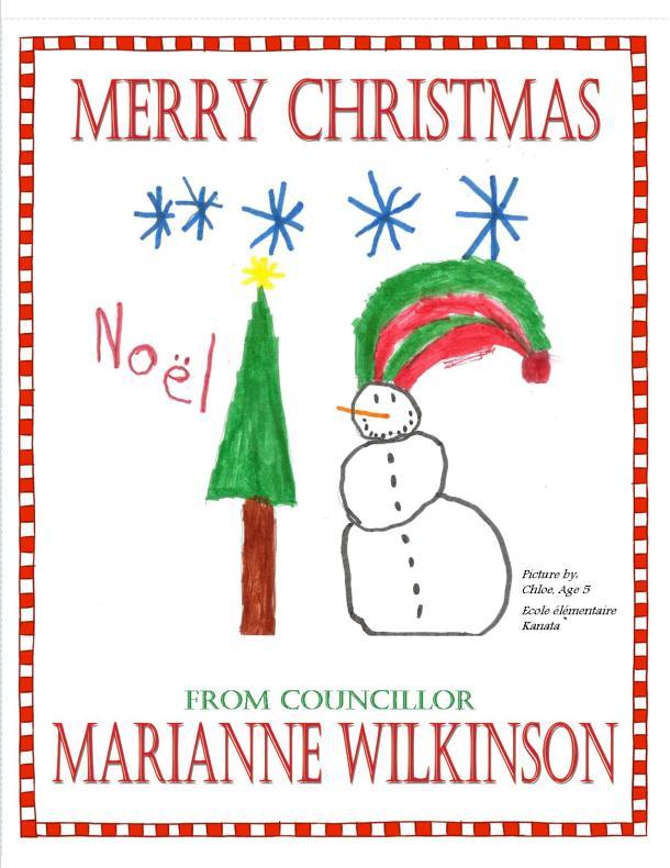 CHRISTMAS CARD VERSION 7