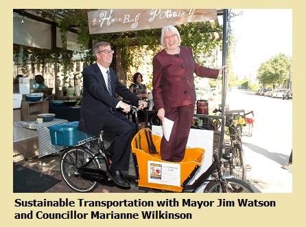 Mayor Watson and Councillor Wilkinson