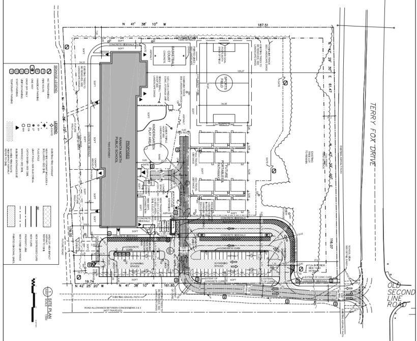 425 Terry Fox revised site plan