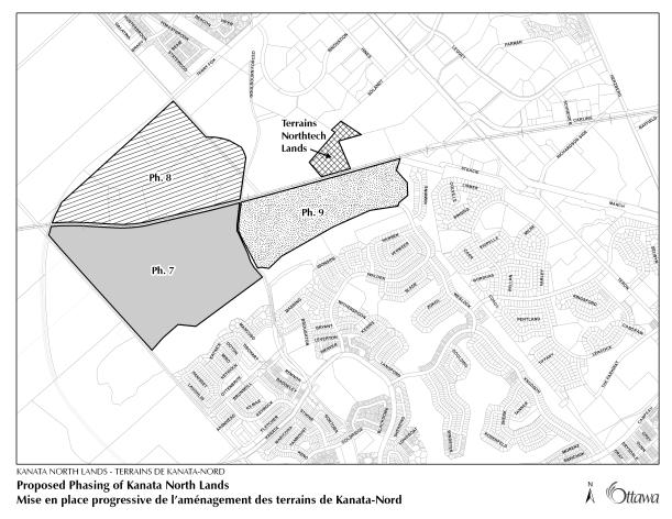 Proposed Phasing of Kanata North Lands8X11