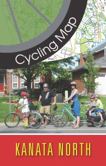 Kanata North Cycling Map