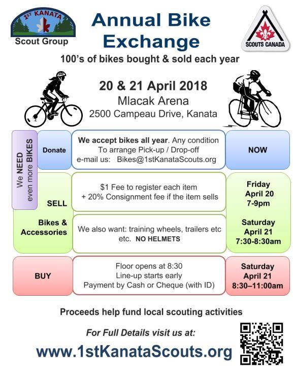 Annual bike exchange