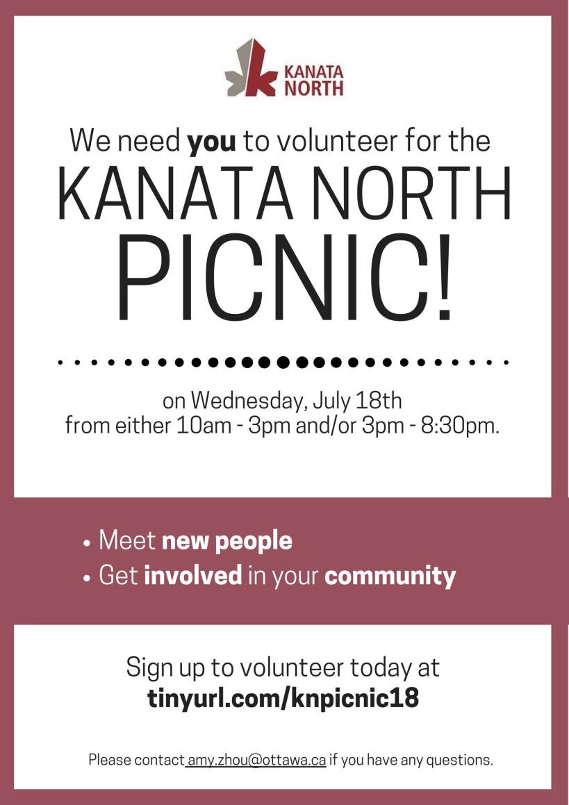 Volunteer - KN Picnic