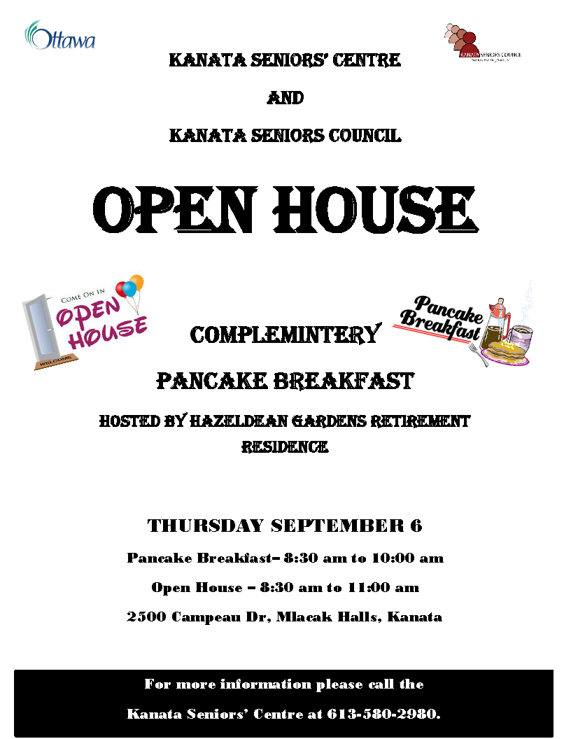 2018 flyer open house pancake