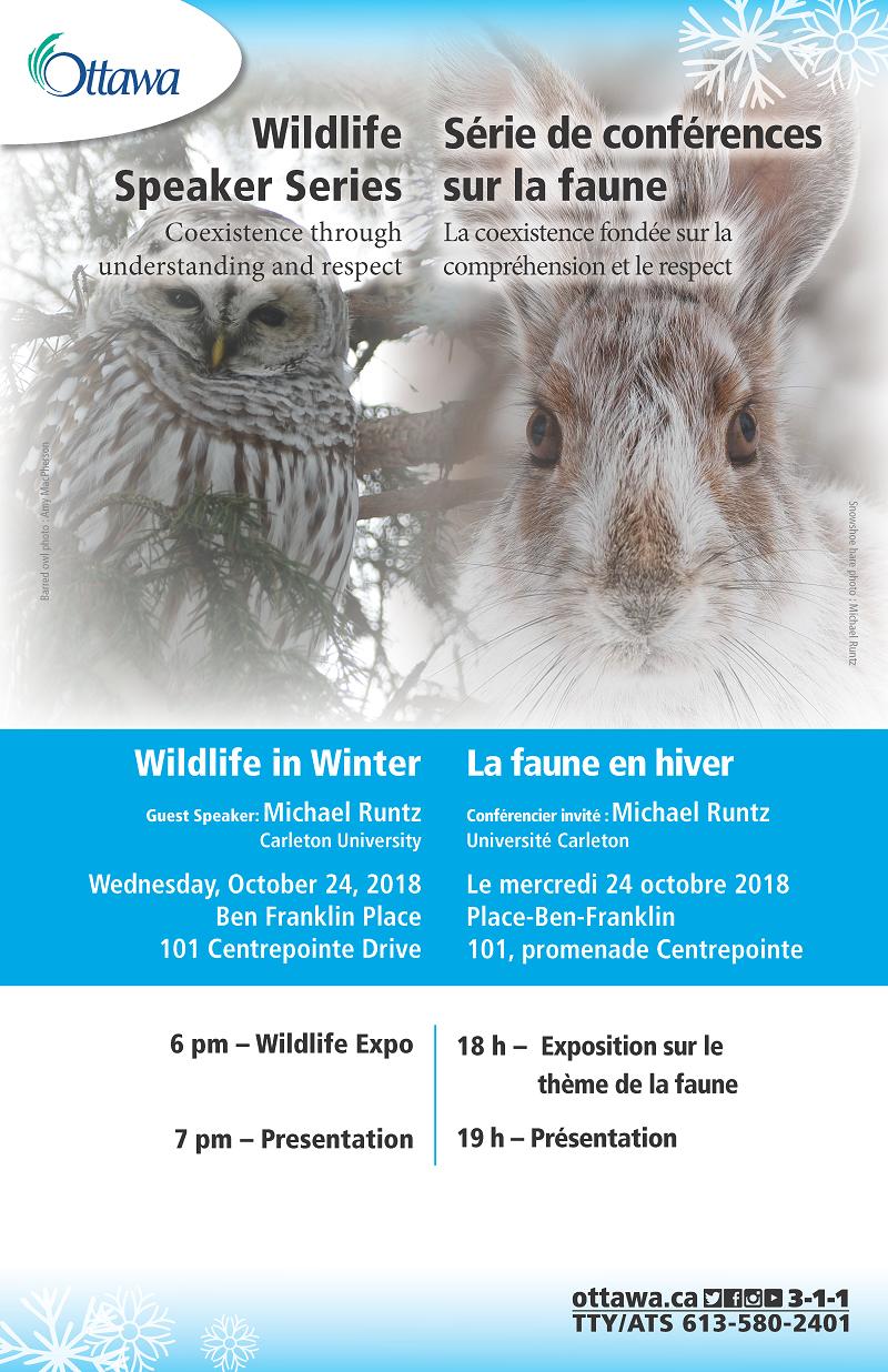 2018-10-11 Wildlife in Winter_Poster_FINAL